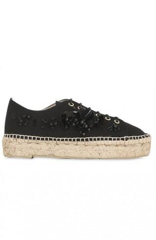 SARAH SUMMER 30mm厚底布鞋