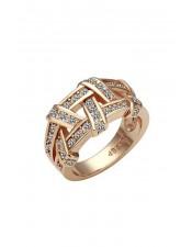 麻花編織造型戒指