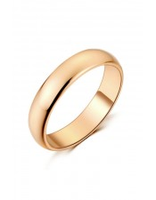 經典玫瑰金戒指