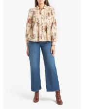 法式鄉村風純棉襯衫